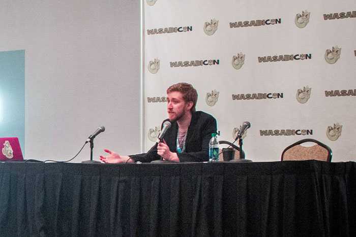 Media guests who appear at WasabiCon participate in at least one Q&A (question and answer) session each day of the convention. This is your opportunity to ask your favorite star about their experiences and listen to their stories about working in the industry.
