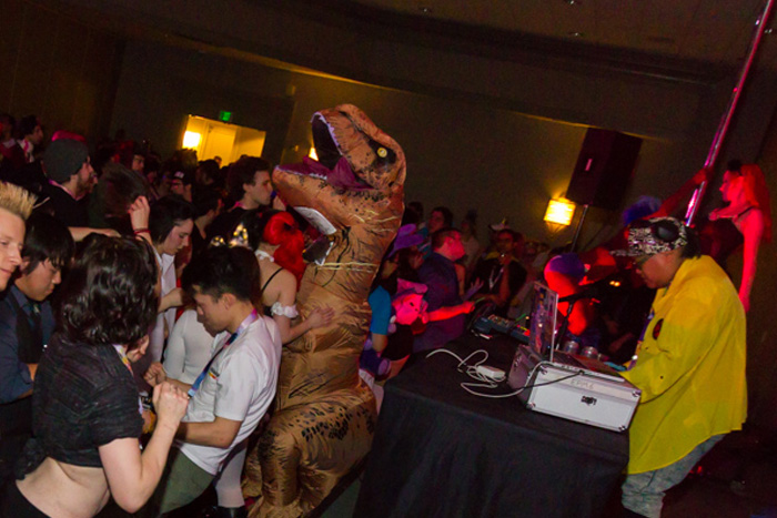 The Cosplay Deviants Naughty New Year's Party at Newcon PDX 2017